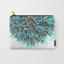 Cactus Crown 1. Blue & Green #decor #buyart Carry-All Pouch