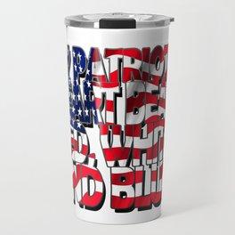 My Patriotic Heart USA Travel Mug