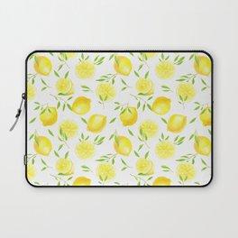 Lemons and leaves  Laptop Sleeve
