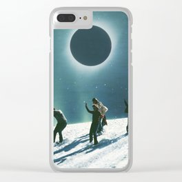 Escaping Winter Clear iPhone Case