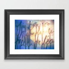 Océan de Terre Framed Art Print