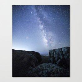 Elephant Rocks, Tomales Bay, CA Canvas Print