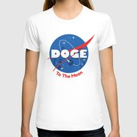 nasa T-shirts featuring Nasa Doge by Tabner's