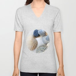 Just Sea Shells Unisex V-Neck