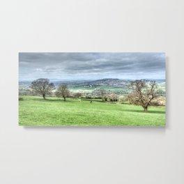 Monmouthshire Panorama Metal Print
