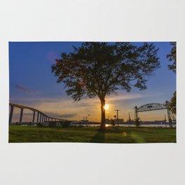 Sunset At Elizabeth River Park Rug
