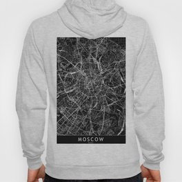 Moscow Black Map Hoody