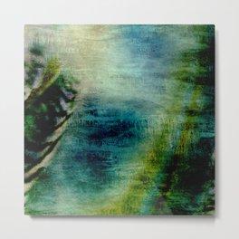 Iris Abstract Metal Print