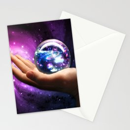 It's all in your hands Stationery Cards