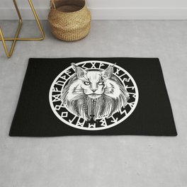 Viking Cat Rug
