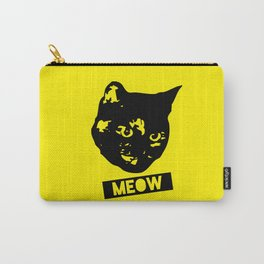 Tortoiseshell Meow Carry-All Pouch