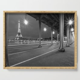 Paris - City of Light Serving Tray