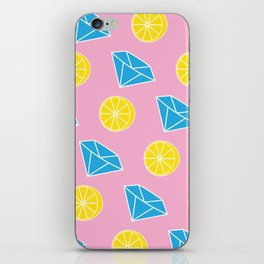Diamonds and Lemons iPhone Skin