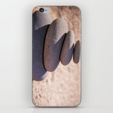 Balancing the world iPhone Skin