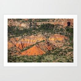 Palo Duro Canyon State Park Landscape Art Print