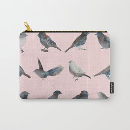 Sparrow Catalog Pink Carry-All Pouch
