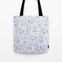 toddler Tote Bags featuring Delight Pastel by Jacqueline Maldonado