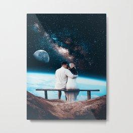 Lovers Under The Stars Metal Print