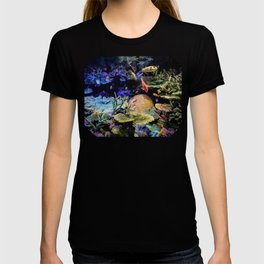 Brain Coral and Bright Colours T-shirt