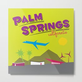 Palm Springs: Jet Set Paradise Metal Print