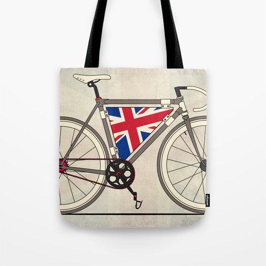 Love Bike, Love Britain Tote Bag
