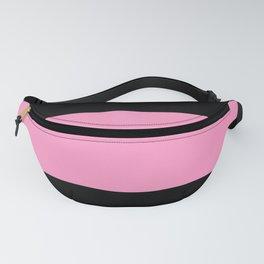 Just three colors 9 Black,pink,black Fanny Pack