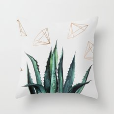 Agave Geometry #society6 #decor #buyart Throw Pillow