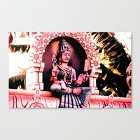 hindu Canvas Prints featuring Hindu 1 by very giorgious