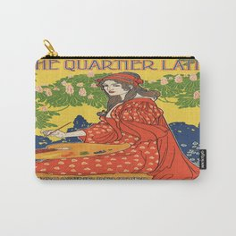 Vintage poster - The Quartier Latin Carry-All Pouch