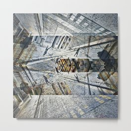where wonder wound up understandably unhinged pt.1 Metal Print
