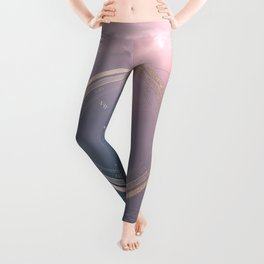 The Edge of Tomorrow - Rosegold Compass Leggings