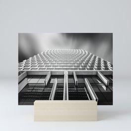 Sunshades Patterns, Light, and Shadow. Mini Art Print