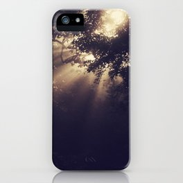 Angels Called Home iPhone Case