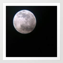 Once in a Full Moon Art Print