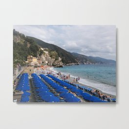 Monterosso Blues Metal Print