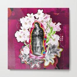 Nossa Senhora de Guadalupe (Our Lady of Guadalupe)  Metal Print