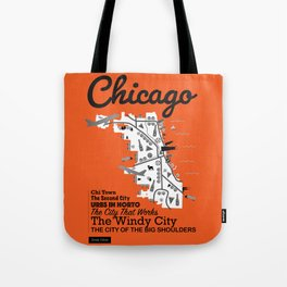 Great Cities: Chicago Tote Bag