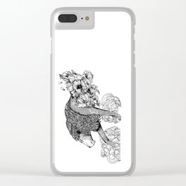 Shedding more than skin Clear iPhone Case