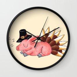 Turkey Coma Wall Clock