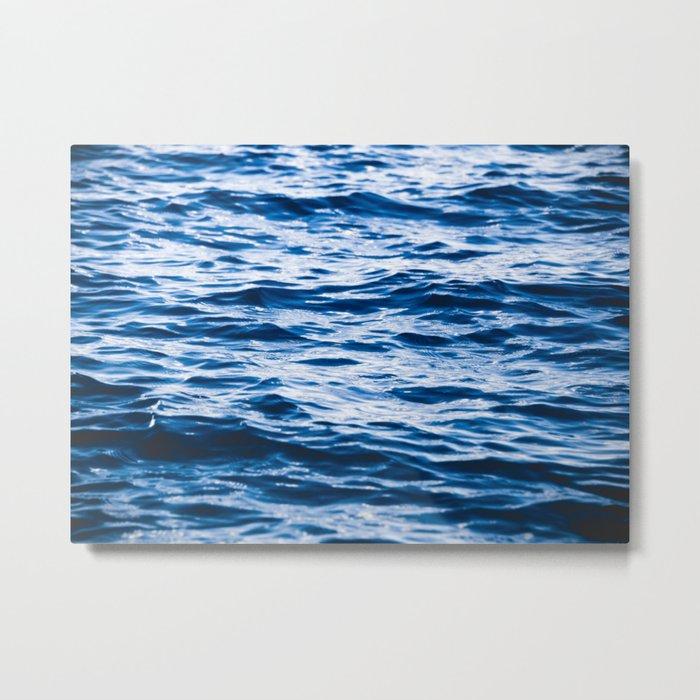 Waves at the Lake Metal Print