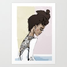 Beauty in the Details Art Print