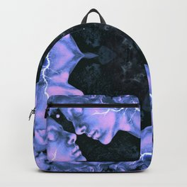 Blue Faces Backpack