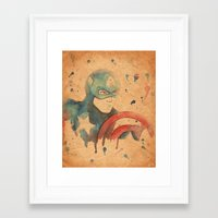 soldier Framed Art Prints featuring Soldier by Sarah J