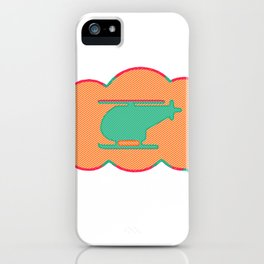 Dreaming of flying iPhone Case