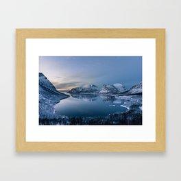 Polar Night Framed Art Print