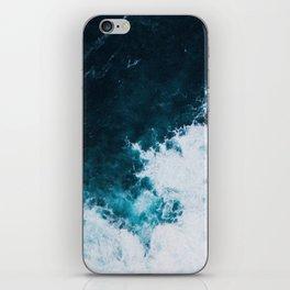Wild ocean waves II iPhone Skin