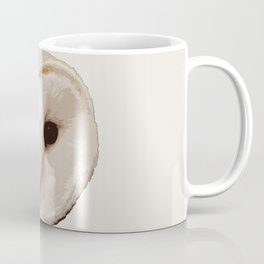 barn owl Head Coffee Mug