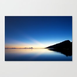 HELLA GOOD SUNRISE Canvas Print