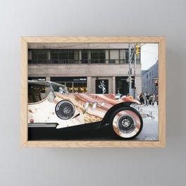 watercolor car  Framed Mini Art Print