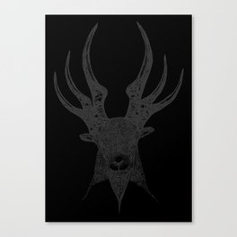 HORNLORD. Canvas Print